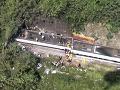 Taiwan smúti za obeťami železničného nešťastia, vlajky spustil na pol žrde