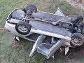 Tragická nehoda neďaleko Chynorian: FOTO Vodič (†30) unikal pred policajtmi, spadol z mosta