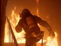 Požiar KORONAVÍRUSOVÉHO oddelenia v maďarskom meste Hatvan spôsobil fajčiaci pacient