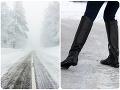 Na cestách opatrne! Meteorológovia vydali viacero výstrah: Vyskytnúť sa môže sneženie aj poľadovica