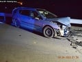 Dopravnú nehodu pri Bidovciach neprežil 34-ročný vodič