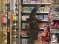 VIDEO Zákazníci v obchode zažili totálny horor: Chcela som si kúpiť drink a tam... obria jašterica!