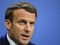 Francúzsky prezident Emmanuel Macron