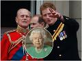 Zasiahne kráľovná? Problémy pred pohrebom princa Philipa: Harry sa so starým otcom možno nerozlúči