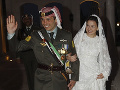Jordánsky kráľ sa prvýkrát objavil na verejnosti s princom obvineným zo vzbury