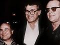 Danny DeVito, Miloš Forman a Jack Nicholson
