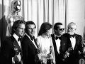 Michael Douglas, Miloš Forman,  Louise Fletcher, Jack Nicholson, Saul Zaentz