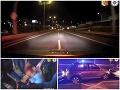 Naháňačka v obrovskej rýchlosti: VIDEO Šok po zastavení! Šoférka (28) si chcela na tvári podpáliť rúško