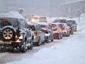 V Žilinskom kraji komplikuje dopravu sneženie: Polícia upozorňuje na viaceré obmedzenia