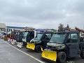 Košice museli vyhlásiť stav pohotovosti: Ráno odpratávali kašovitú vrstvu snehu