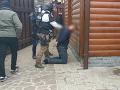 Autentické VIDEO zo zásahu NAKA! Pri Gelnici zadržala muža obvineného z objednávky vraždy