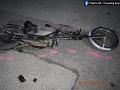 FOTO Polícia v Trnavskom kraji zasahovala pri dvoch nehodách motocyklistov