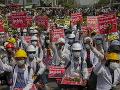 Mjanmarská armáda zatkla jedného z lídrov protestov