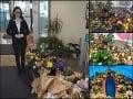 Matovičovi to nevyšlo... Dojímavé gesto ľudí! VIDEO Záplava kvetov pre Baťovú, pridali sa aj politici