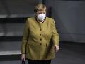 KORONAVÍRUS Merkelová naliehala na poslancov, aby schválili jednotné pandemické pravidlá
