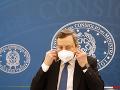 Taliansky premiér Mario Draghi