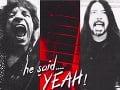 Mick Jagger a Dave