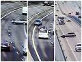 VIDEO dramatických okamihov na R1 pri Nitre: Z vodičových manévrov tuhne krv v žilách