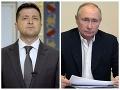 Napätie na východe Ukrajiny: VIDEO Zelenskyj navrhol Putinovi stretnutie v Donbase
