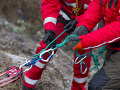 Pri Stanišovskej jaskyni sa poranila 42-ročná cyklistka, pomáhali jej horskí záchranári