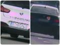 Piráti na BMW-čkách prišli o stovky eur: FOTO V Bratislave dvojnásobne prešvihli rýchlostný limit