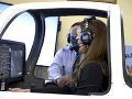 Vojvodkyňa Kate si vyskúšala letecký trenažér.