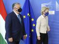 Šéfka Európskej komisie Leyenová rokovala s Orbánom o využití fondov obnovy EÚ