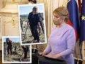 Takto ste prezidentku Čaputovú ešte nevideli: VIDEO Zabudnite na šaty a palác, dnes to bola drina a mozole!