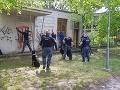 Policajní kynológovia zabránili krádeži na Uránovej ulici v bratislavskom Ružinove