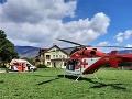 Leteckí záchranári zasahovali v Závadke nad Hronom: Pomáhali zranenému pilčíkovi