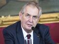 Zeman podpísal zmenu volebného zákona aj zákaz detských dlhov