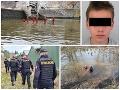 Tomáš (†15) zmizol bez stopy pred tromi týždňami: Koniec nádeje! Jeho telo vylovili z rieky