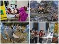 KORONAVÍRUS Rekord v počte úmrtí, situácia v Indii je hrozivá: Zlyháva všetko! Varovanie pre Slovákov