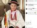 Andrea Heringhová má s Borisom Kollárom aj syna Borisa.