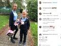 Andrea Heringhová má s Borisom Kollárom dcéru Saru Zoe a syna Borisa.