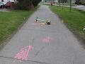 Kolobežkár v Poprade na chodníku zrazil dievčatko: FOTO Polícia pripomenula pravidlá jazdy