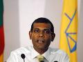 Bývalý maldivský prezident Mohamed