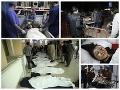 MIMORIADNE Krvavý MASAKER v blízkosti školy: Výbuch bomby! Najmenej 55 mŕtvych