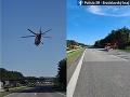 AKTUÁLNE Vážna nehoda Tesly: FOTO Diaľnicu za Malackami uzavreli, zasahoval vrtuľník!
