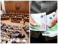 Aktuálne platy slovenských poslancov: O takýchto SUMÁCH môžu bežní smrteľníci iba snívať!