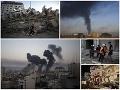 MIMORIADNE Nočný útok Hamasu, Izrael pod paľbou: Desivé zábery, hrozí totálna vojna!