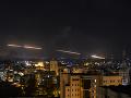 Rakety vypálené z pásma Gazy