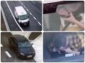 Ďalšie desivé VIDEO! Vodič, ktorý si na diaľnici spravil kokaínovú prestávku, nejazdil nafetovaný len raz