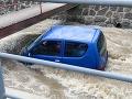 Boj o život pri Rudne nad Hronom: FOTO Žena uviazla v potoku! Išlo o minúty