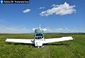 FOTO V Poprade havarovalo lietadlo: Pri pristávaní si zlomilo koleso