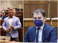 Dráma v parlamente: VIDEO Poslanec napadol Matoviča, minister dostal studenú sprchu