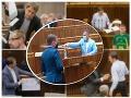 Ochutnal Matovič v pléne vlastnú medicínku? Po striekačkách, transparentoch či megafónoch skončil sám potupený!