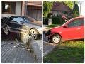 Z auta do cépezetky! Policajti narazili na poriadne opitých vodičov: Jeden z nich spôsobil škodu ako hrom