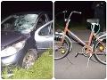 Ďalšia smrť cyklistu! FOTO Tragédia pri Zlatých Moravciach: Policajti sa nestačili diviť, koľko dievčina nafúkala