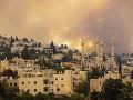 Požiar v Jeruzaleme